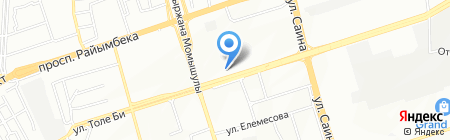Магазин канцелярских товаров на карте Алматы