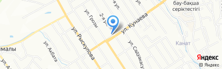 Усадьба на карте Алматы