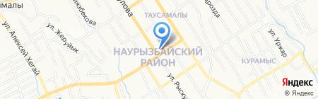 Участковый пункт полиции №43\/1 Ауэзовского района на карте Алматы