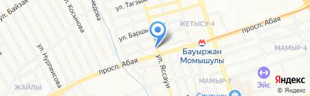 Лагман таун магазин фастфудной продукции на карте Алматы