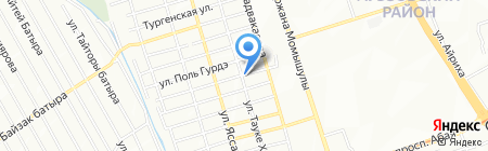Иль-Зар на карте Алматы