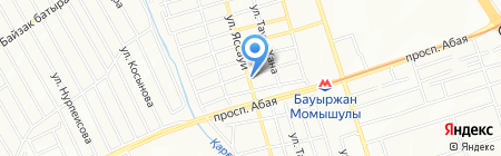АБКА на карте Алматы
