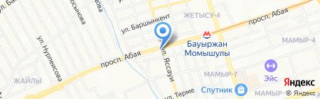 Шашлычная на карте Алматы