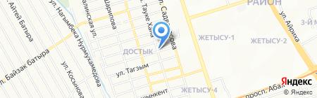 Достык магазин на карте Алматы