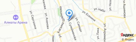 Абдысамат на карте Алматы