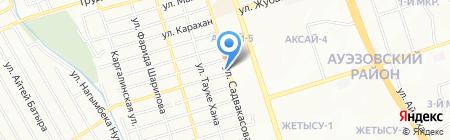 Лагманхана на ул. Есенова на карте Алматы