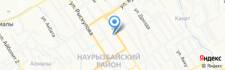 Сельская больница с. Таусамалы на карте Алматы