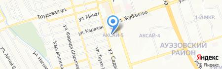Салем продуктовый магазин на карте Алматы