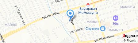 Micro-voltage на карте Алматы