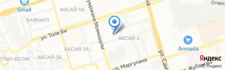 Общеобразовательная школа №42 на карте Алматы