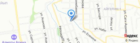 Транспорт Сервис Логистика на карте Алматы