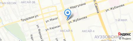 Лагманхана столовая на карте Алматы