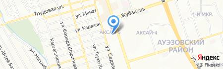 Нурхад на карте Алматы