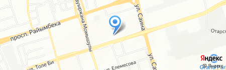 Исцелим на карте Алматы