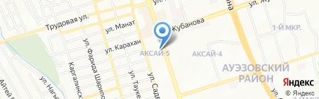 Ерасыл на карте Алматы