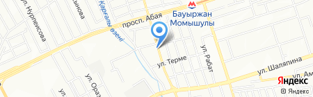 Саадат на карте Алматы