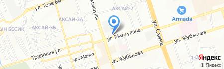 Mavi Service на карте Алматы
