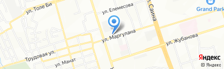 Rassal на карте Алматы