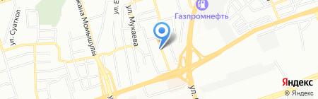 Айым на карте Алматы