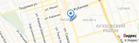 КазМед на карте Алматы