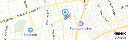 Престиж ТОО на карте Алматы