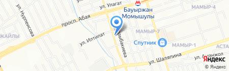 Гога на карте Алматы