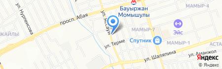 Сумали на карте Алматы