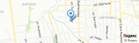 Бексултан на карте Алматы