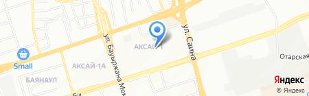 Специализированная ШВСМ на карте Алматы
