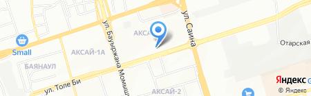 HopeLand на карте Алматы