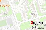 Схема проезда до компании Ана мен бала в Алматы