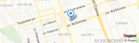 Бутик сотовых аксессуаров на карте Алматы