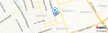 Али-Кам на карте Алматы