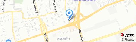 Сырлыбаев А.Б. на карте Алматы