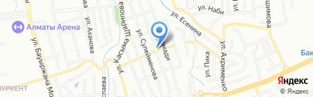 Анель продовольственный магазин на карте Алматы