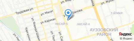 FOOD продуктовый магазин на карте Алматы