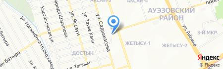 BMC на карте Алматы