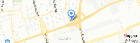 Парикмахерская на ул. Касыма Шарипова на карте Алматы