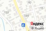 Схема проезда до компании Napa Motors в Алматы