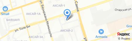 Жер-Ана ТОО на карте Алматы
