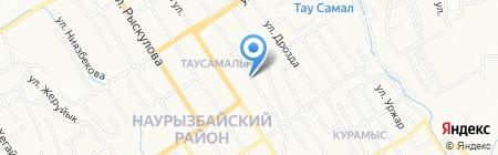 Аружан продовольственный магазин на карте Алматы