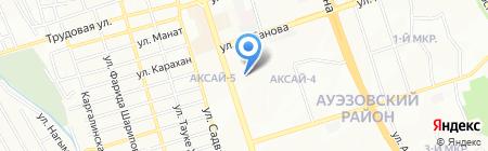 Стомат на карте Алматы