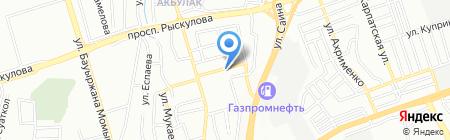 РОССИЙСКИЙ ТЕКСТИЛЬ на карте Алматы