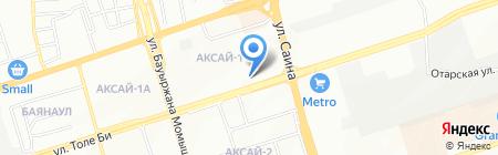 МИРОМЕД на карте Алматы