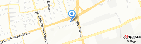 Город мастеров на карте Алматы
