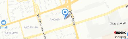 Ясли-сад №28 на карте Алматы