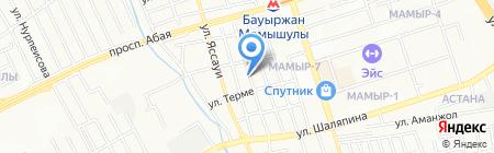 TIDA на карте Алматы