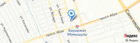 Нуршат на карте Алматы