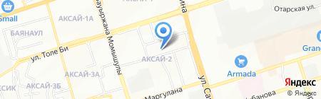 Almaty Market на карте Алматы