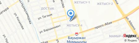 РЭС энергетическая компания на карте Алматы
